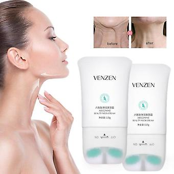 Massage Cream With Double Roller For Neck Care-anti Wrinkle Massage Cream