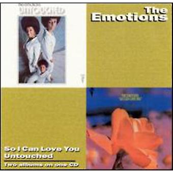 Emotions - So I Can Love You/Untouched [CD] USA import