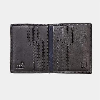 Primehide Leather Mens Card Holder Wallet RFID Bloqueando carteira de cartão gents 3313
