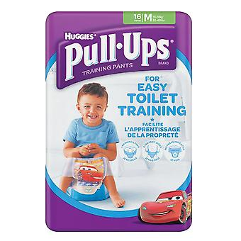 Boys Medium 10-18kg Toilet Potty Training 16 Pull Ups Re-sealable Stretchy