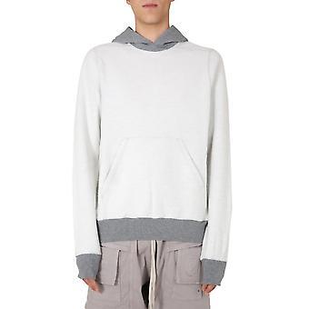 Rick Owens Drkshdw Du20f1289fmr178 Men's Grey Cotton Sweatshirt