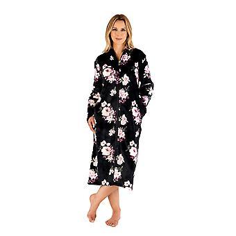 Slenderella HC66312 Women's Floral Dressing Gown