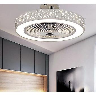 Modern Ceiling Fan With Lights For Dining Room Bedroom Living With Remote Control