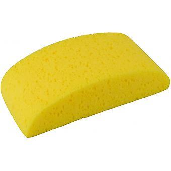 spons halfrond 20 x 9 x 5,5 cm geel