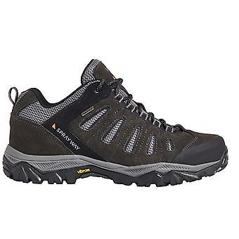 Sprayway Mens Cara Low Suede  Mesh Lightweight Walking Shoes