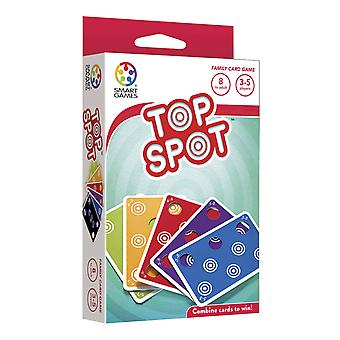 smartgames top spot multi-player card game for ages 6 and above