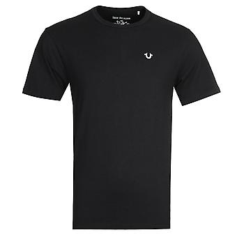 True Religion Reflective Black T-Shirt