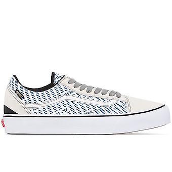 Vans Ezcr011012 Men's White Fabric Sneakers