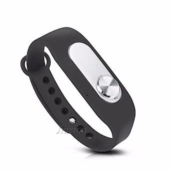 Portable Audio Sound Voice Recorder 4gb 70 Hours Recording Wearable Wristband Digital Bracelet Pen For Interview Meeting (4gb)