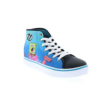 Heelys Hustle Spongebob  Big Kids Blue Canvas Lifestyle Sneakers Shoes