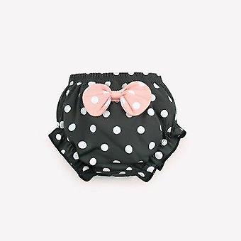 Infant Underwear Cotton Baby Panties Cute Big Bow Dots Shorts For Fashion