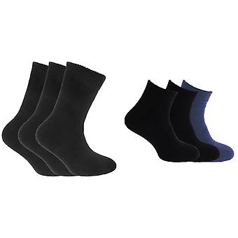 Redtag Childrens Boys Plain Thermal Socks (1.20 Tog) (Pack Of 3)