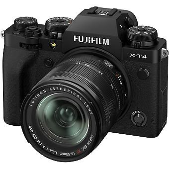 FUJIFILM X-T4 Black KIT XF 18-55mm F2.8-4 R LM OIS Black