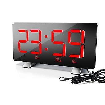 "8"" Usb Charging Digital Led Alarm Clock"