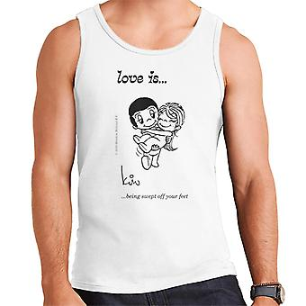 Love Is Being Swept Off Your Feet Men-apos;s Vest