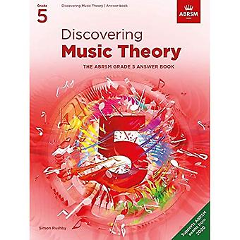 Discovering Music Theory, The ABRSM Grade 5 Answer Book (Theory workbooks (ABRSM))