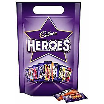 Cadbury melk sjokolade helter deling bag 357g