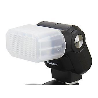 Maxsimafoto® - difusor de rebote de flash blanco para luz de velocidad nikon sb-300, sb300.
