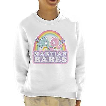 Pflege Bären Cheer Bär und Wunsch Bär Mars Babes Kid's Sweatshirt