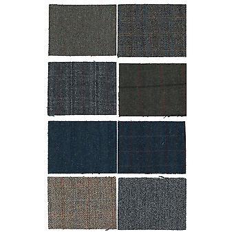 Harris Tweed Fabric Genuine 100% Pure Virgin Wool
