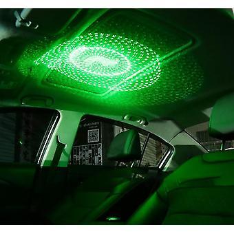 Luce notturna Laser Proiettore Atmosfera Lampada Usb Effetti decorativi Stage Light