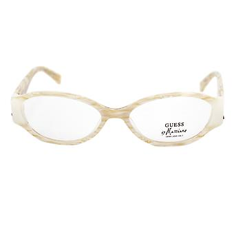Ladies'Spectacle frame Guess Marciano GM130-BE Beige (ø 52 mm)