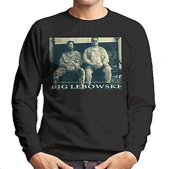 The Big Lebowski The Dude And Walter Sofa Men's Sweatshirt