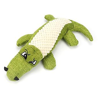 Dog Plush Toy Simulation Crocodile Vocal Dog Toy Bite Resistant Pet Supplies