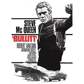 Larrini Steve Mcqueen Bullitt Poster