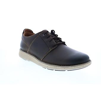 Clarks Un Larvik Lace 2 Mens Brown Oxfords & Lace Ups Plain Toe Schoenen