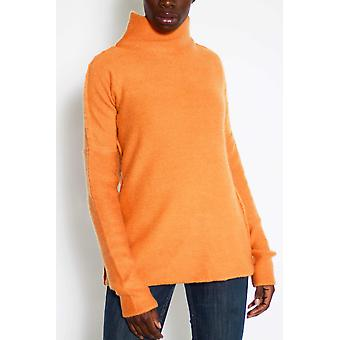Large turtle neck cashmere sweater -