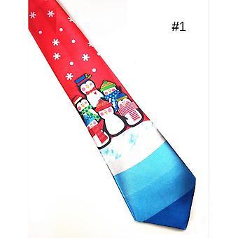 Men's Fashion Helloween Festival Soft Designer Character Necktie