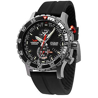 Vostok europe expedition everest watch for Analog Quartz Men with Silicone bracelet YM8J-597A549