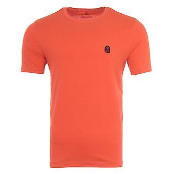 Parajumpers Patch T-Shirt - Carrot Orange