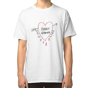 Fin linje T Shirt Harrystyles Selenagomez Taylorswift
