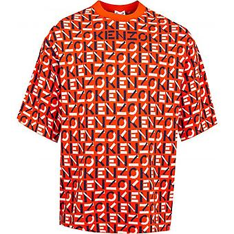Kenzo Monogram Oversized T-skjorte
