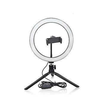 Dimmable Led- Selfie Ring & Fill Light, Makeup Table Lamp, Tripod Night Light