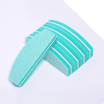 Nail file buffer for polishing, buffing and sanding