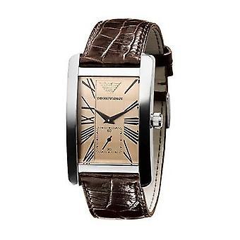 Armani Ar0154 - Herre Classic Læder Strap Watch