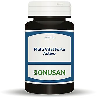 Tabletas Bonusan Multi жизненно Форте «Активо» 60
