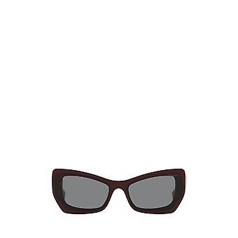 Miu Miu MU 07XS gafas de sol femeninas burdeos rosa