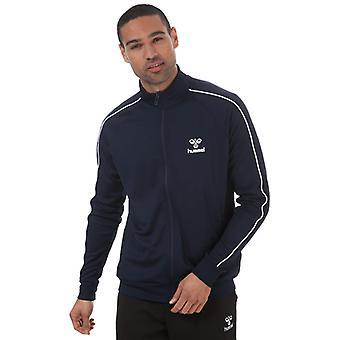 Men's Hummel Arne Track Jacket in Blue