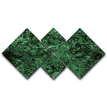 Vihreät marmorilaatat saumaton kangas