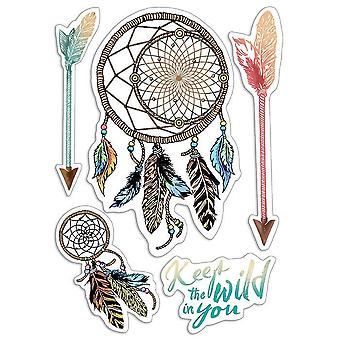 """Ciao Bella 4""""x6"""" Stamps - Keep the Wild in You"""