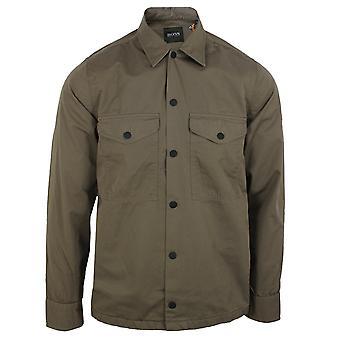 Hugo boss lovel 7 men's khaki overshirt