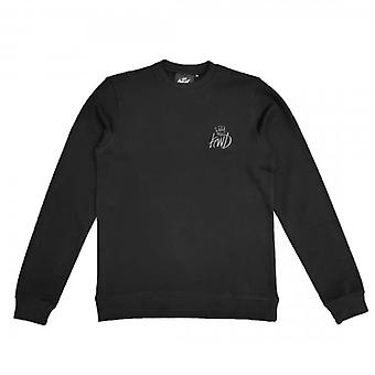 Kings Will Dream Crosby Black/Grey Crew Neck Sweatshirt
