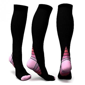 Männer professionelle Kompression Socken atmungsaktive Reiseaktivitäten fit für Krankenschwestern Shin Splints Flugreisen