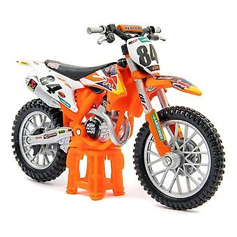 Burago KTM 450 SX-F Factory Edition Red Bull Racing  Motorcycle 1:18