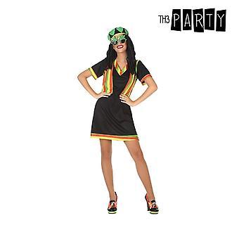 Costume per adulti giamaicano nero (2 pezzi)