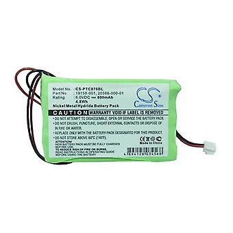 Cameron Sino Ptc870Bl Battery Replacement For Symbol Barcode Scanner